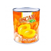 Персик Оскар консервированный половинки 850 мл – ИМ «Обжора»