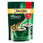 Кофе Якобс (Jacobs) Монарх растворимый 130 г – ІМ «Обжора»
