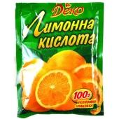Лимонная кислота Деко 90 г – ИМ «Обжора»