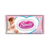 Салфетки Смайл (Smile) Baby влажныес клапаном 72 шт – ИМ «Обжора»