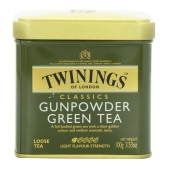 Чай Твайнинг (Twinings) Ганпаудер 100г ж/б – ИМ «Обжора»