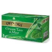 Чай Твайнинг (Twinings) Зеленый с мятой 25 пак – ИМ «Обжора»