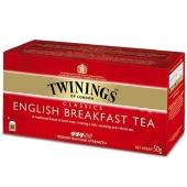 Чай Твайнинг (Twinings) Черный Английский завтрак 25 пак – ИМ «Обжора»