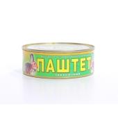 Паштет Галицкий смак Закусочный мясо кролика 250 г – ИМ «Обжора»