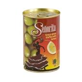 Оливки Сеньйорита б/к лимон 280 г – ИМ «Обжора»