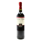 Вино Карта Вьеха (Carta Vieja) Каберне Совиньон красное сухое 0,75 л – ИМ «Обжора»