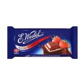 Шоколад Ведель (Wedel) молочный клубника 100 г – ИМ «Обжора»