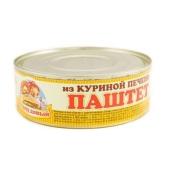 Паштет Онисс Селянский с куриной печенью 240 г ж/б – ИМ «Обжора»