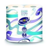 Туалетная бумага PrOK 2-х шаровая белая 4 шт – ИМ «Обжора»