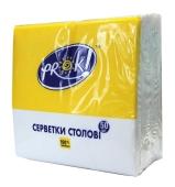 Салфетки PrOK 24х24 белые 100 шт – ИМ «Обжора»