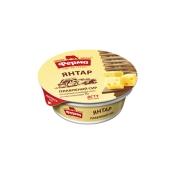 Сыр плавленый Ферма Янтарь 55% 90 г – ИМ «Обжора»