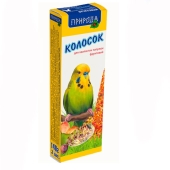 Корм Природа Колосок для попугаев фруктовый 140 г – ИМ «Обжора»