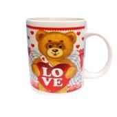 Чашка Валентинка фарфор – ИМ «Обжора»