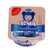 Творожная паста Тёма Черника 3,4% 100 г – ИМ «Обжора»