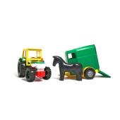 Игрушка Тигрес Трактор с прицепом в коробке – ИМ «Обжора»