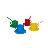 Игрушка Тигрес Посуда Ромашка на 4 персон Люкс – ИМ «Обжора»