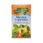 Чай Полесский Мелиса Груша 20п*2г – ИМ «Обжора»