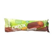 Сырок Белая береза шоколадный в глазури 15% 55 г – ИМ «Обжора»