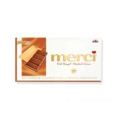 Шоколад Мерси (Merci) молочный Мерси кофе сливки 100 г – ИМ «Обжора»