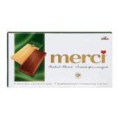 Шоколад Мерси (Merci) молочный лесной орех миндаль 100 г – ИМ «Обжора»