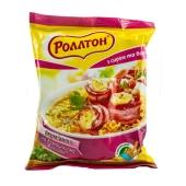 Макароны Роллтон бульон с сыром и беконом по-домашнему 60 г – ИМ «Обжора»