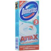 Средство Доместос (DOMESTOS) для чистки туалета Стикер Морская Свежесть  3*10г – ИМ «Обжора»