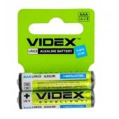 Батарейки VIDEX LR03/AAA 2pcs SHRINK CARD – ІМ «Обжора»