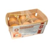 Куриное яйцо Фермерское С  (СВ кат,) 6 шт. – ИМ «Обжора»