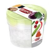 Компл. ёмкостей BRQ  для морозилки RUKKOLA 3шт (2х0,5+0,75) 1145 – ИМ «Обжора»