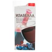 Вино Котнар (Cotnar) Виниа Изабелла розовое п/сл 1 л – ИМ «Обжора»