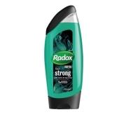 Гель для душа мужской Radox Ощути силу 250мл – ИМ «Обжора»
