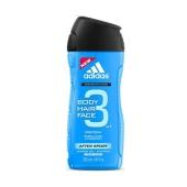 Гель для душа+шампунь Adidas Body&Hair& Fase Sport Energy 250 мл. – ИМ «Обжора»