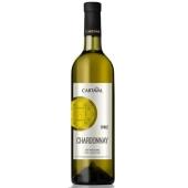 Вино Картавал (Cartaval) Шардоне белое сухое 0,75л. – ИМ «Обжора»