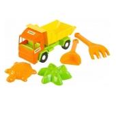 Пісочний Набір `Вантажівка Multi truck` 5 од, 39157 – ІМ «Обжора»