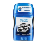 Дезодорант Менен Спид  (Mennen Speed Stick) Neutro Power 50 г – ИМ «Обжора»