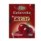 Желе Деко со вкусом вишни 90 г – ИМ «Обжора»