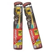 Зубная щетка Колгейт (Colgate) 360 Золотая с древесным углем – ИМ «Обжора»