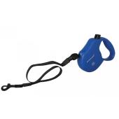 Рулетка Коллар (Collar)  control 20кг,5м(светоотраж.,лента,трос) синяя – ИМ «Обжора»