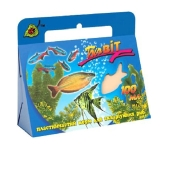 Корм для рыб  Природа БиоВит пластинчатый 100 мл – ИМ «Обжора»