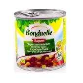 Фасоль Бондюэль (Bonduelle) красная в соусе Чили с кукурузой 430г – ИМ «Обжора»