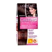 Краска для волос Лореаль (Loreal) Кастинг Крем Глосс N412 – ИМ «Обжора»