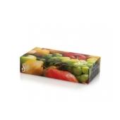Салфетки Софт для лица кол.фруктов.9 разн.дизайн.2слой /100% целюл. – ИМ «Обжора»