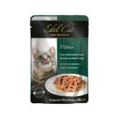 Корм для кошек  утка+кролик в соусе 100г Эдел (Edel Cat) pouch  Edel – ИМ «Обжора»