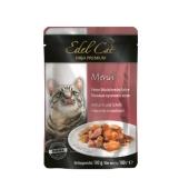 Корм для кошек  лосось+камбала в желе 100г Эдел (Edel Cat) pouch  Edel – ИМ «Обжора»