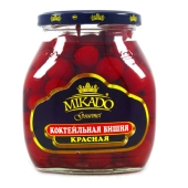 Коктейльная вишня красная Микадо (Mikado) 720г – ИМ «Обжора»