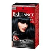 Краска Брилланс (Brillance)  для волос Иссиня черный 891 – ИМ «Обжора»