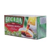 Чай Беседа с листьями мелиссы 26 п – ИМ «Обжора»
