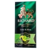 Чай Ричард (Richard) Лайм мята 25п*2г – ИМ «Обжора»