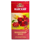Чай Майский Вишневый бриз 25 п – ИМ «Обжора»