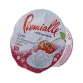 Творог Премиалле (Premialle) вишня зернистый 7% 150 г – ИМ «Обжора»